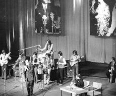 Klaus Lenz und Band bei einem Auftritt